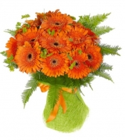 send online Bouquet Orange