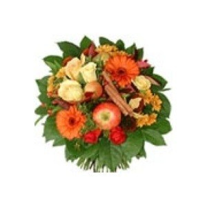 send online bouquet of flowers and fruits
