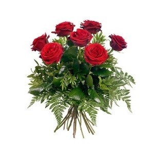 Inviare online bouquet 7 rose rosse