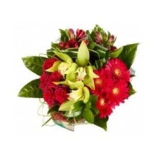 Inviare online bouquet passione