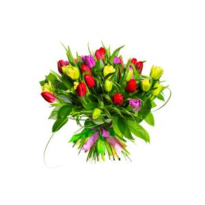 Inviare online Bouquet Tulipani