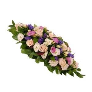 Inviare online cuscino funebre di fiori misti