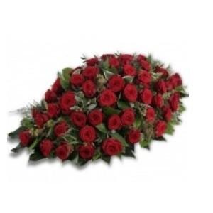Inviare online cuscino rose rosse