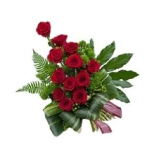 Inviare online dozzina di rose rosse
