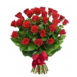 Inviare online mazzo con 25 rose rosse