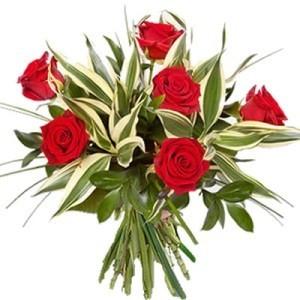 inviare online mezza dozzina di rose rosse